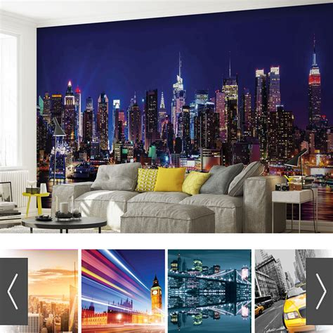 city urban photo wallpaper mural ebay