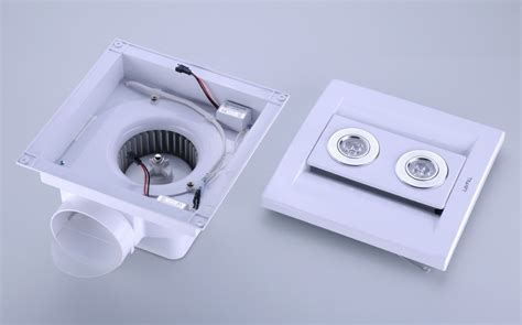 kitchen exhaust fan with light ceiling extractor fan