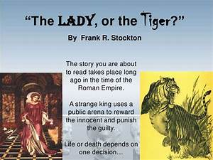 The Lady Or The Tiger Short Summary  What Is A Summary Of Lady Or The  2019