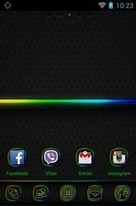 Neon Android Theme For Go Launcher