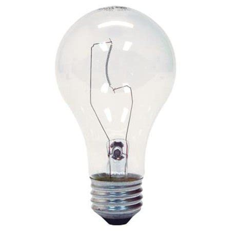 standard light bulb base ge 97490 a19 soft clear standard light bulb e26 base 60