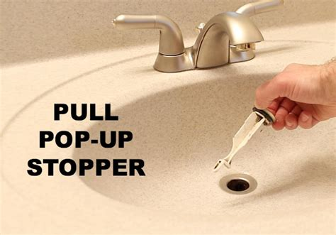 how to remove sink drain stopper how to clean a stinky sink drain home repair tutor