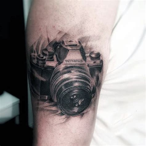 80 Camera Tattoo Designs For Men  Photography Ink Ideas