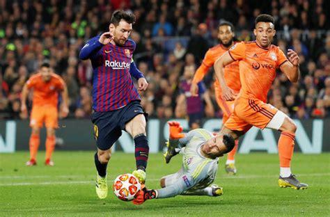 Champions League Pix Messi Takes Barca Into Quarters