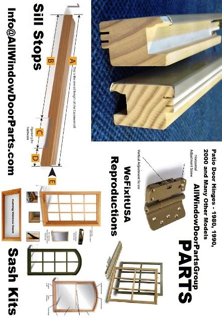 pozzi rockwell seal rite hardware replacement parts sash replacement kits weatherstrip