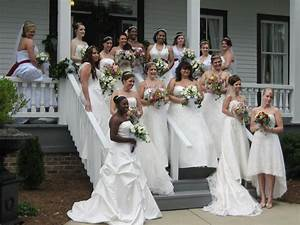 weddings for warriors alfred angelo donates over 400 With wedding dresses columbus ga