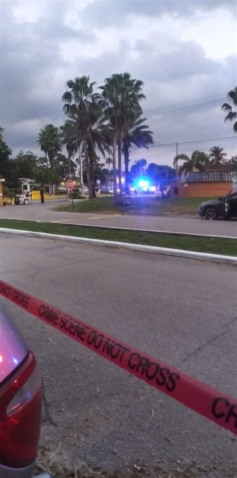 PBSO investigating shooting at mobile home park in West ...