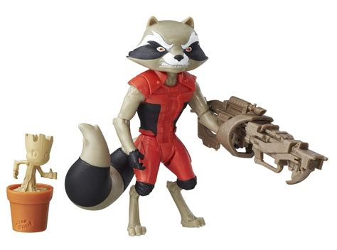 hasbro guardians of the galaxy animated figures released
