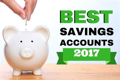 Best Savings Account Rates Best Savings Accounts For 2017 Best Money Market Accounts