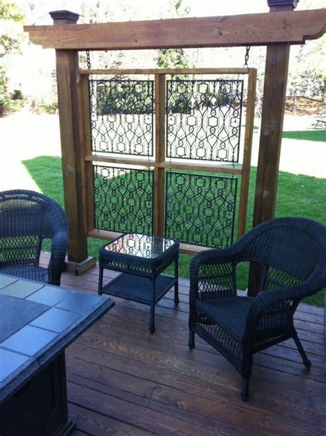 Backyard Privacy Screens Trellis - 95 best landscaping patio gate ideas images on