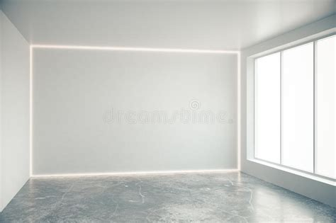 vide chambre mur gris vide dans la chambre vide avec de grandes