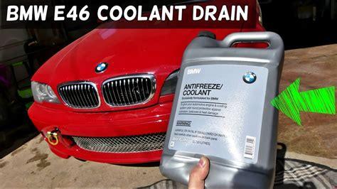 Bmw Antifreeze by Bmw E46 How To Drain Coolant Drain Radiator 325i 328i 330i
