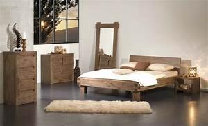 Lit En 160x200 : lit vente de lit rond en bois moderne contemporain ~ Teatrodelosmanantiales.com Idées de Décoration
