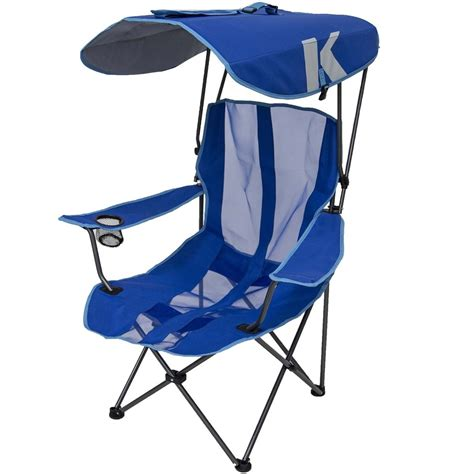kelsyus go with me chair browngreen kelsyus folding chair with shade canopy