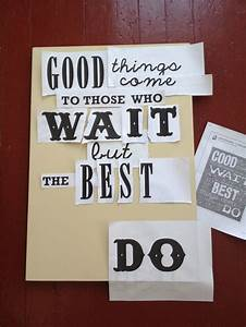 make your own quote sign crafts pinterest With stencil letters for wood signs
