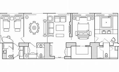 Presidential Suite Layout 144m Exclusive Area