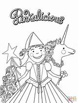 Pinkalicious Coloring Fancy Nancy Printable Birthday Printables Purplicious Crafts Sheets Paper Unicorn Brown Drawing Prince Templates Cartoon Supercoloring Template Berenstain sketch template