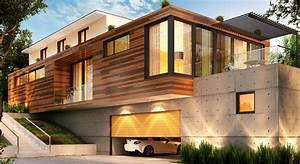 Ossature Bois Maison : amb constructeur maison bois ~ Melissatoandfro.com Idées de Décoration
