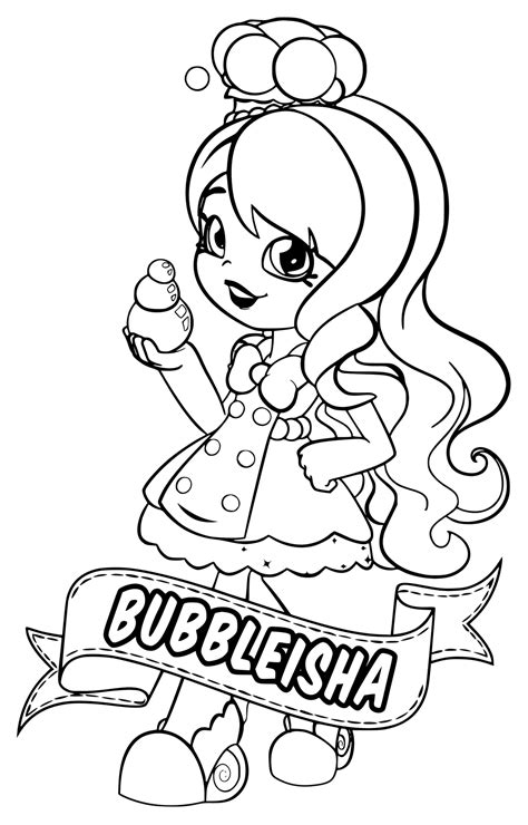 Kleurplaten Shopkin by Shoppies Coloring Pages Shopkins Coloring Pages