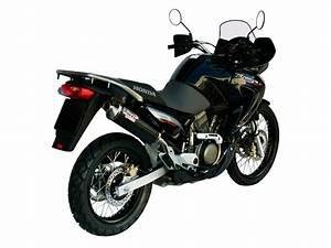 Honda Xlv 650 Transalp Exhaust Mivv Oval Carbon H 031 L3