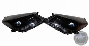 2012 Toyota Yaris Hatchback Black Hid Projector Headlamps
