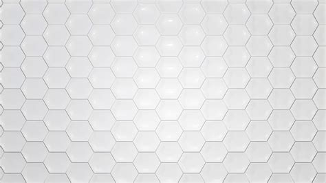White Texture Background White Texture Hexagon Moving Background Motion Background