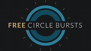 free after effects template circle burst assets With after effect motion graphics templates