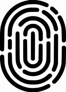 fingerprint svg png icon free 555994