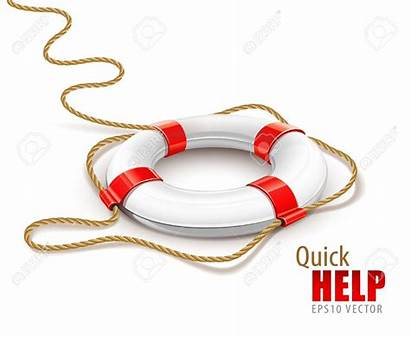 Rescue Ring Clipart Help Quick Background Vector