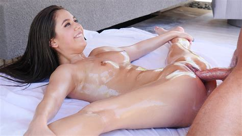Tiny Naked Gymnast Gets Fucked Hard In The Most Flexible