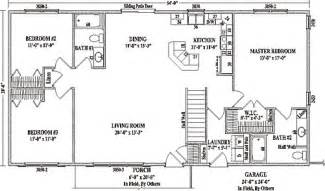 ranch house plans open floor plan ranch floor plans open concept mankato ii by wardcraft