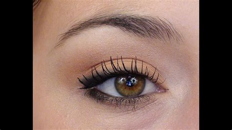 maquillage yeux marrons ete
