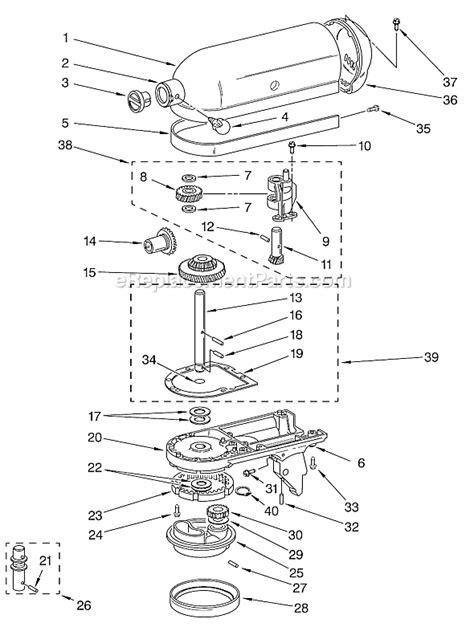 Kitchenaid Kssac Parts List Diagram