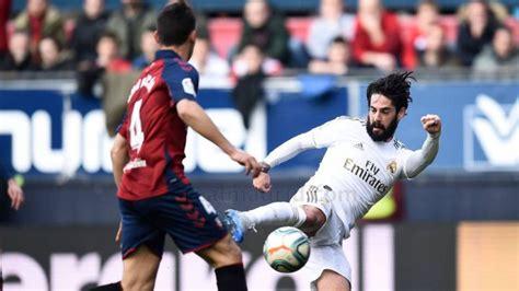 Osasuna vs Real Madrid: Horario, TV; cómo y dónde ver en ...