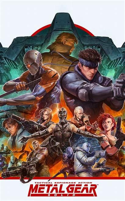 Solid Gear Metal Snake Games Resolution Nexus