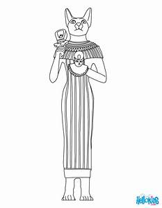 GODS AND GODDESSES of Ancient Egypt coloring pages ...