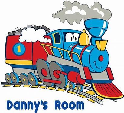 Train Boys Wall Decor Cartoon Sticker Personalized