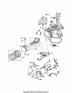 Mtd 1p70l0a Engine Parts Diagram For 1p70l0a Crankcase