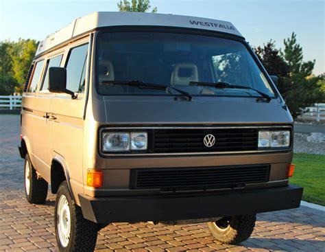 volkswagen westfalia syncro 1986 vw vanagon syncro westfalia cer w 14k on engine