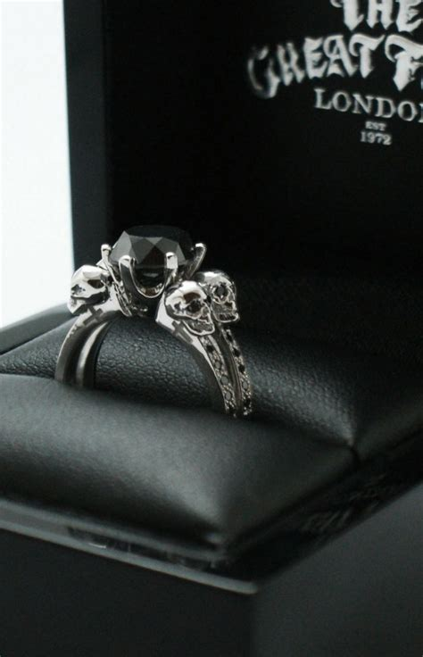 Collection Skull Wedding Rings For Women  Matvukcom. Gift Bracelet. Strand Bracelet. Skull Medallion. Saffire Engagement Rings