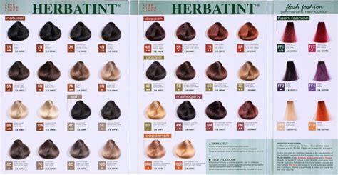 herbatint color chart bierba herbatint tridose