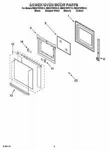 Whirlpool Wp4449253 Inner Oven Door Glass
