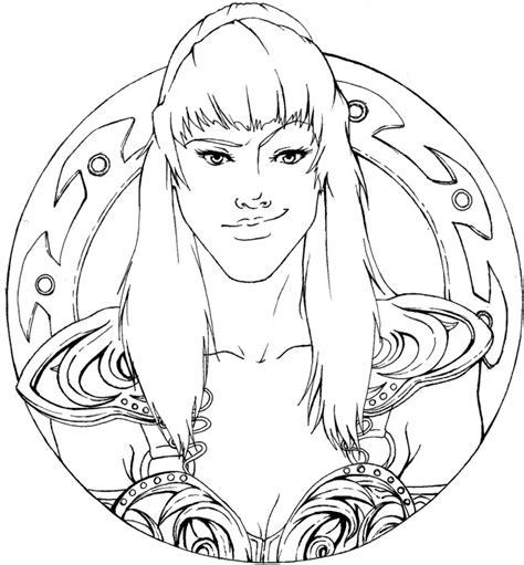 warrior princess  shadowkira  deviantart