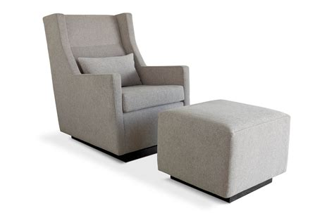 gus modern kipling glider and ottoman smart furniture