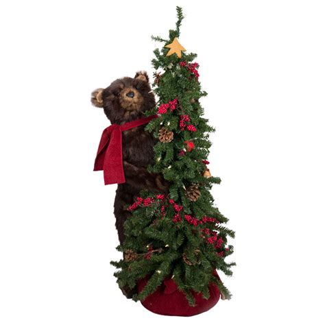 ditz designs bear christmas trees lighted christmas tree