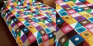 Kukka Bedspread Crochet Blanket - STYLESIDEA