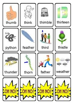 articulation game cards   words initial