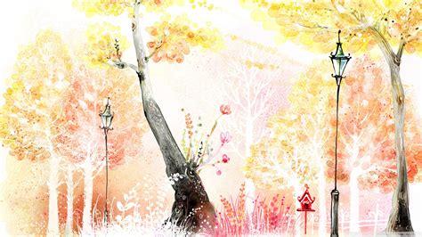 drawings  autumn  hd desktop wallpaper   ultra hd