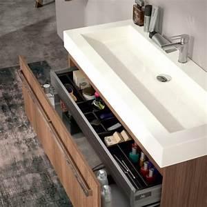 meubles vasque de salle de bain quadra 1205cmx402cm With meuble quadra plus