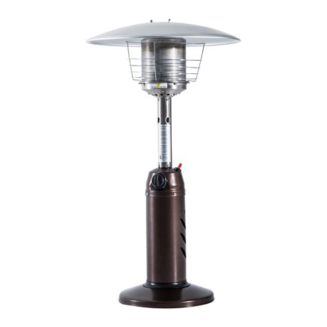 outsunny 35 outdoor table top patio propane heater